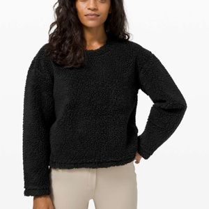NEW Lululemon Wool Whenever Crew Sweater Size 10